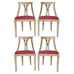 Gentil Hollywood Regency Dining Chairs