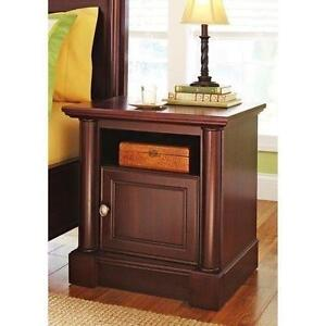 cherry bedside table