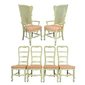 Ladder Back Cane Chairs