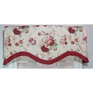 waverly rose valances - Valances