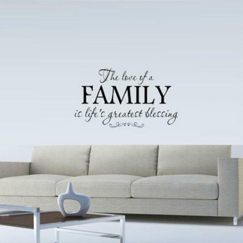 Family Is Wall Decals
