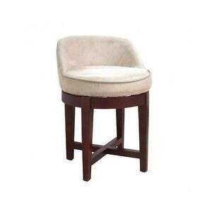 swivel vanity stool