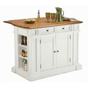 Kitchen Island Cart White
