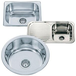 Image Is Loading Small Top Mount Inset Stainless Steel Kitchen Sinks