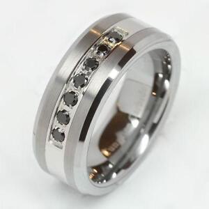 Menu0027s Diamond Wedding Rings