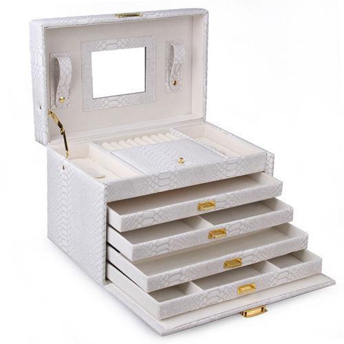 White Jewelry Armoires