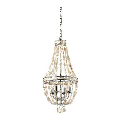beaded chandelier lights - Wood Bead Chandelier