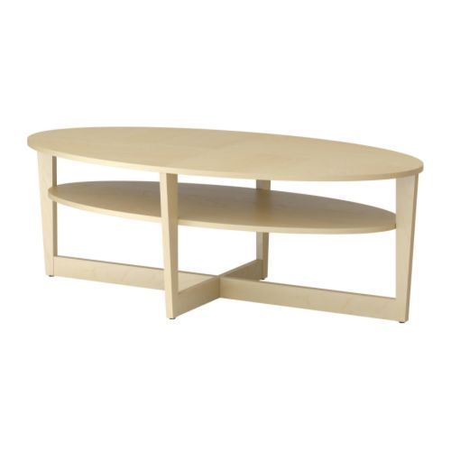 Ikea VEJMON Large Oval Coffee Table   Like New | Coffee Tables | Ottawa |  Kijiji