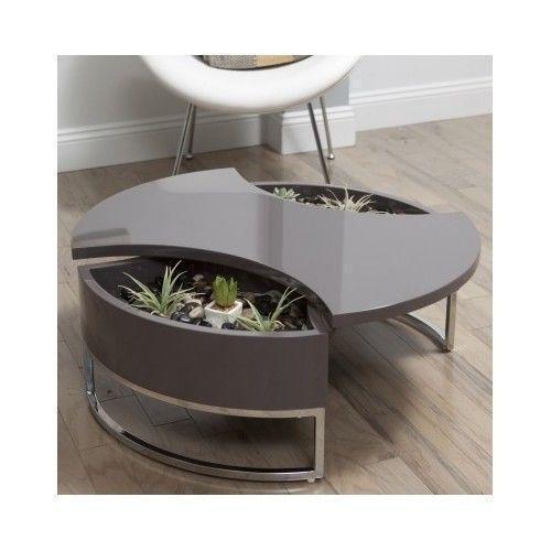 Beau Swivel Coffee Table | EBay
