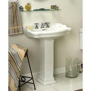 Small Pedestal Sink