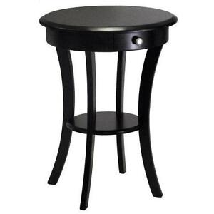 Genial Black Round End Tables