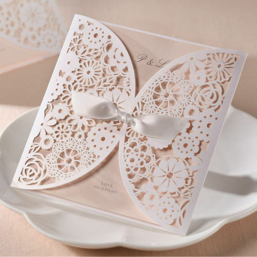 DIY Making Your Own Vintage Lace Wedding Invitations