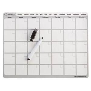 magnetic dry erase calendar board