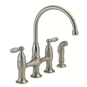 Delta Stainless Steel Kitchen Faucet