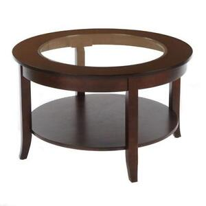 Wonderful Round Glass Coffee Table
