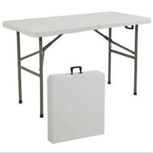 Best Choice Products SKY1593 Portable Plastic Folding Picnic Table