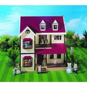 Sylvanian Families Houses With Furniture