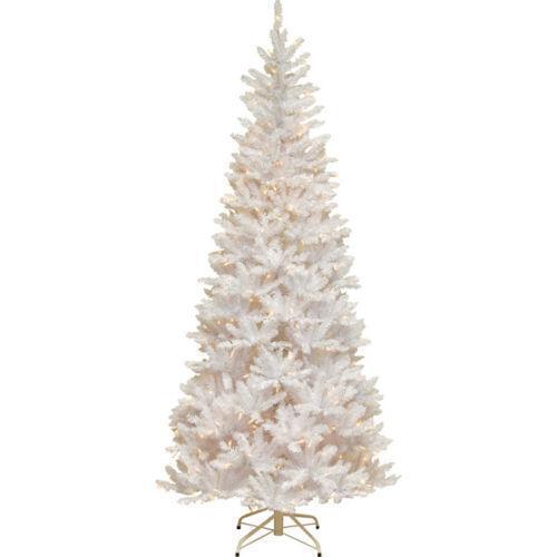 Slim Prelit Christmas Tree