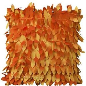 orange decorative throw pillows