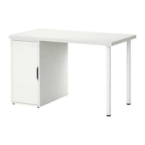 Ikea Linnmon U0026 Alex Cabinet Desk   In White Part 90