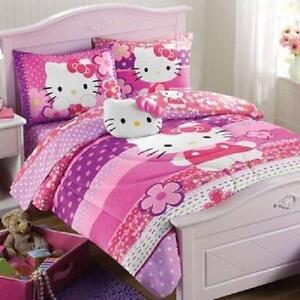 Hello Kitty Bed Set Full