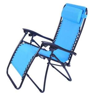 Folding Beach Lounge Chair  sc 1 st  eBay : folding beach chaise - Sectionals, Sofas & Couches
