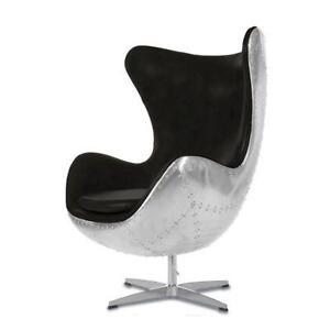 Attrayant Leather Egg Chairs