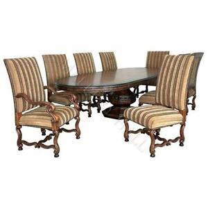 Oval Pedestal Dining Tables