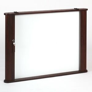 Best Rite Tambour Door Enclosed Dry Erase Board Cabinet   28060