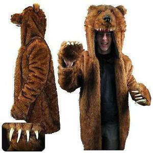 Grizzly Bear Costume  sc 1 st  eBay & Bear Costume | eBay