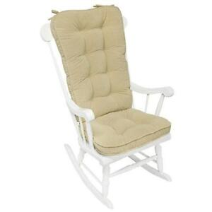 Beau Jumbo Rocking Chair Cushions
