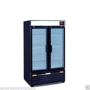 2 Glass Door Refrigerator