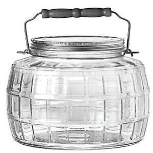2 gallon glass jar