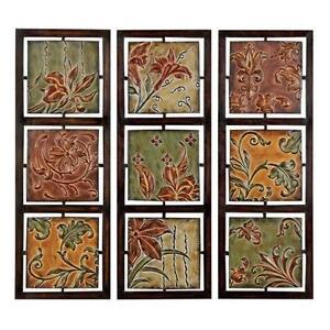 Metal Flower Wall Decors
