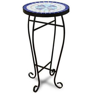 Round Metal Garden Table