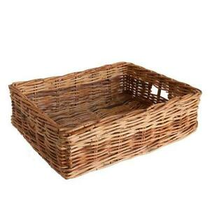 Under Bed Wicker Storage Baskets  sc 1 st  eBay & Wicker Storage Baskets | eBay