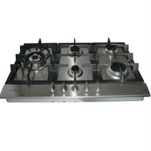 stainless gas cooktop