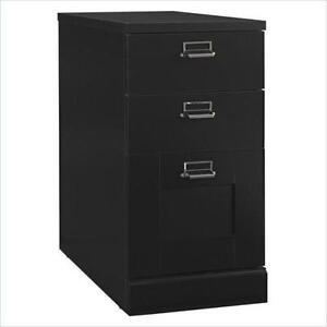 Elegant 3 Drawer Wood File Cabinet
