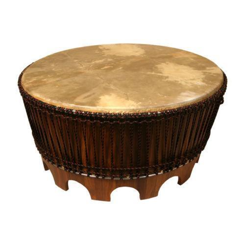 Amazing African Drum Table | EBay