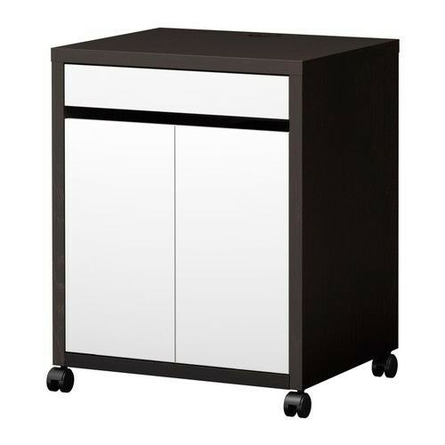 Superbe Ikea Malm Printer Storage Unit / Cabinet For Office