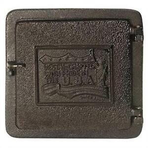 Cast Iron Fireplace Door