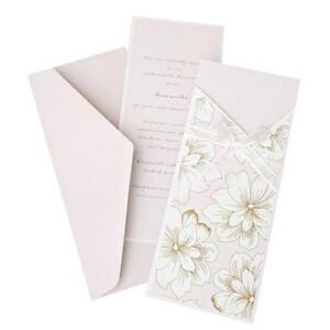 Pink Wedding Invitation Kit