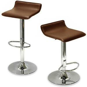 Brown Leather Bar Stools  sc 1 st  eBay & Leather Bar Stools | eBay islam-shia.org