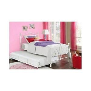 girls trundle bed
