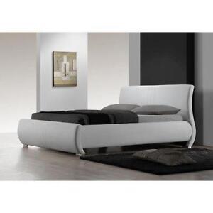 white king bed frames