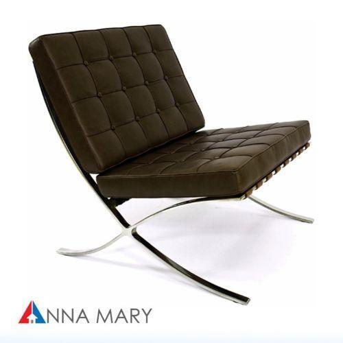Captivating Barcelona Chair Brown