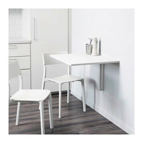 Ordinaire Ikea Norberg Folding Wall Mounted Table