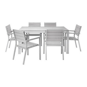 Falster Ikea Patio Table With 6 Chairs