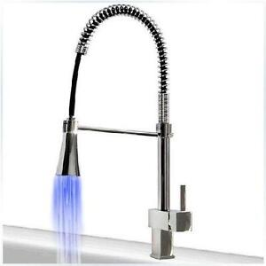 Kitchen Faucet Pull Out LED