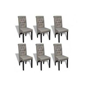 Delicieux 6 Dining Chairs